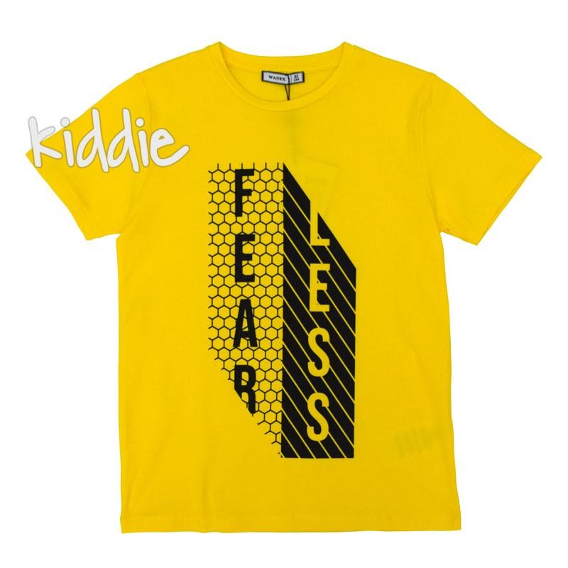 Детска тениска Fearless Wanex за момче