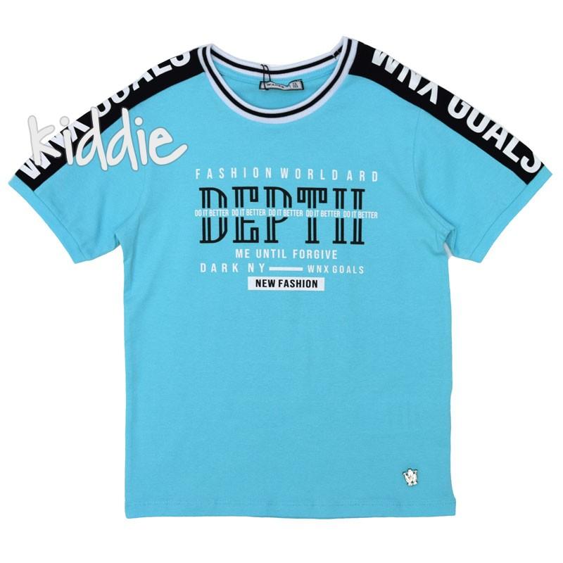 Детска тениска Deptii Wanex за момче
