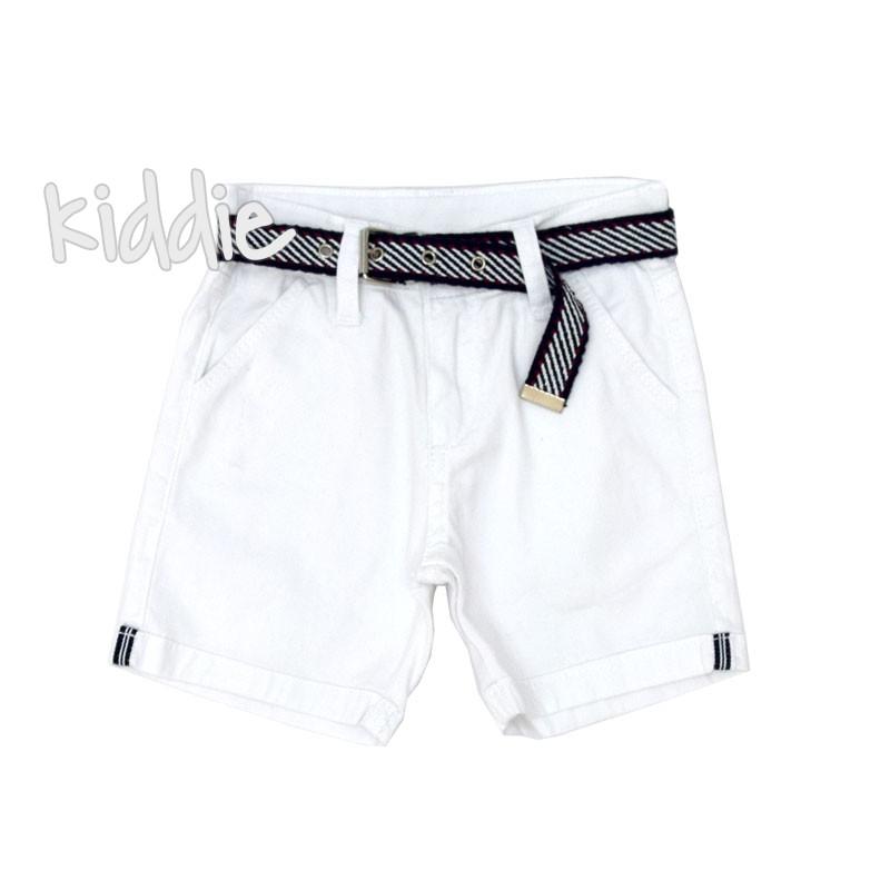 Детски къси панталони Breeze с колан за момче