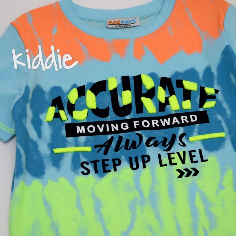 Детска тениска Mackays за момче Accurate