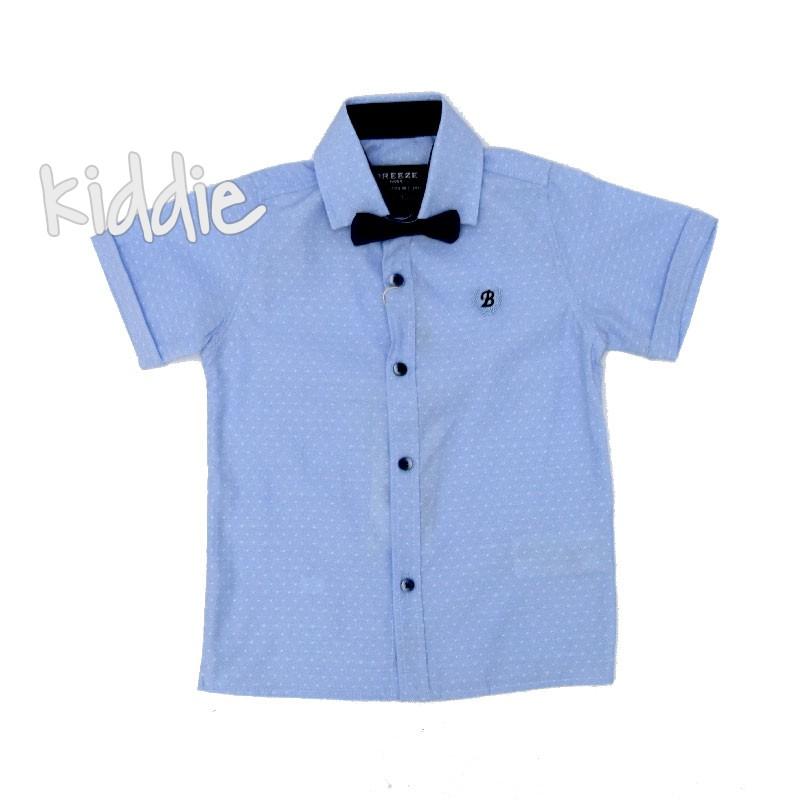 Детска риза Breeze с папионка за момче