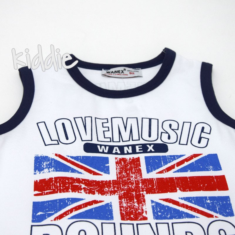 Детски потник Wanex Love Music за момче