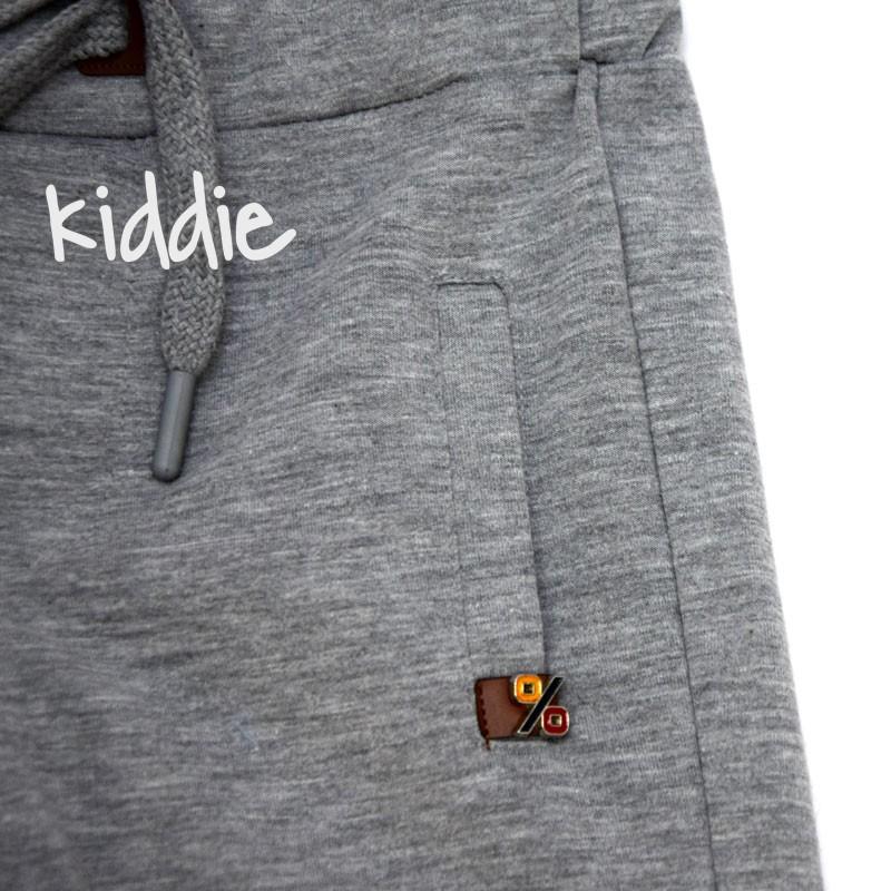 Детски бермуди Cikoby за момче с кожена емблема