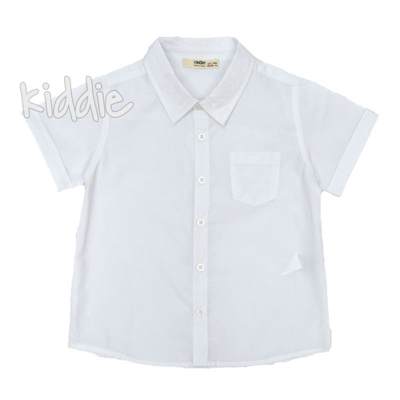Детска риза Cikoby с горен джоб за момче