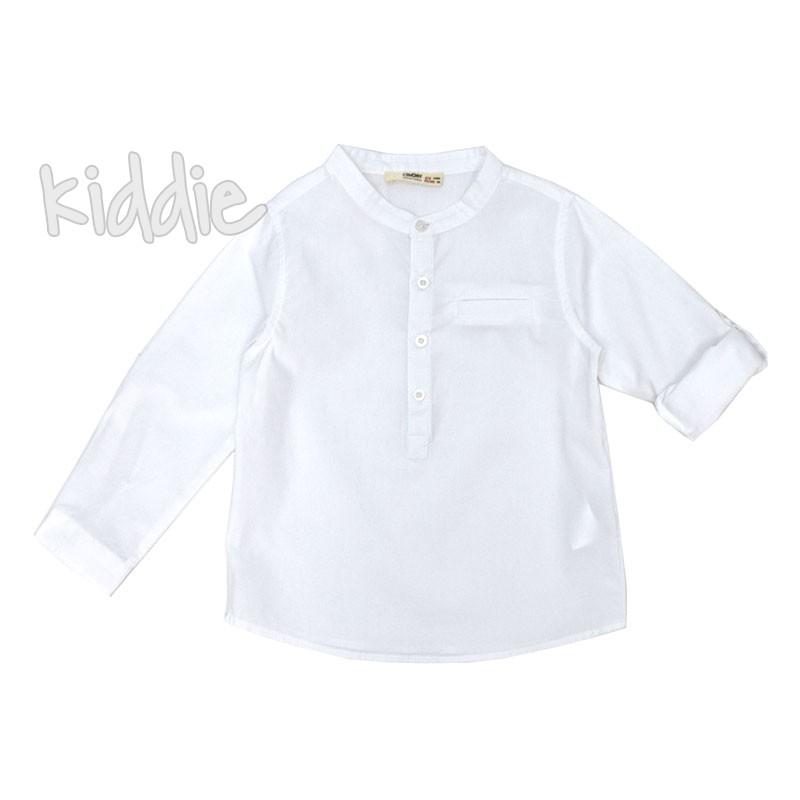 Детска риза Cikoby със столче яка за момче