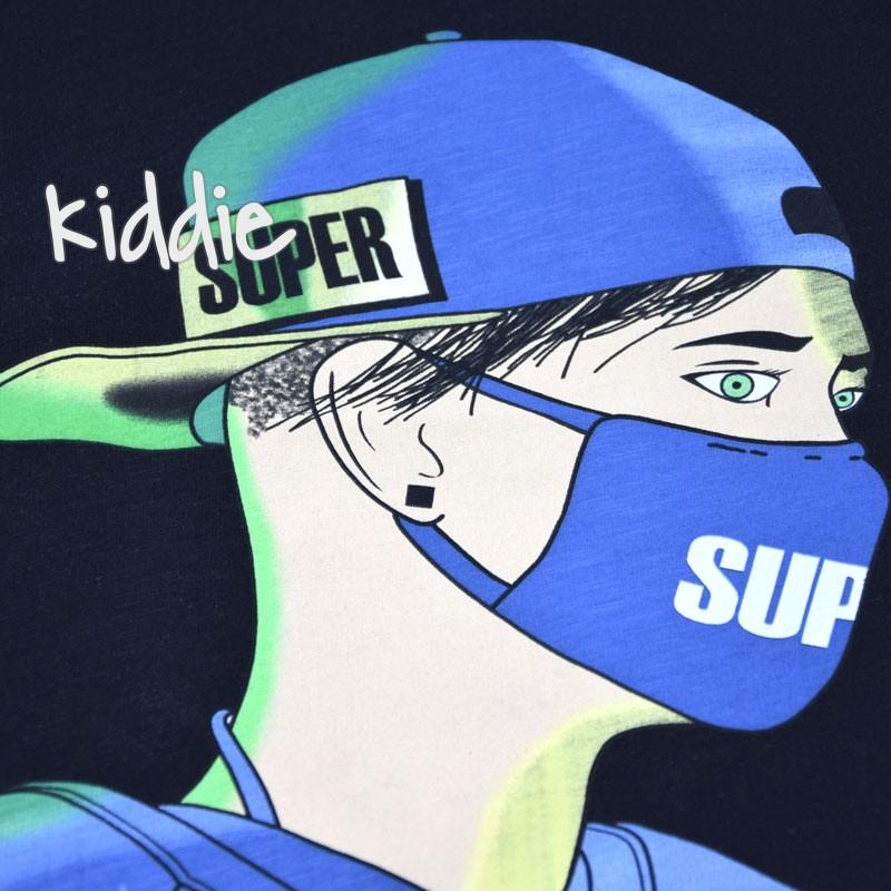 Детска тениска Cikoby Super с маска за момче