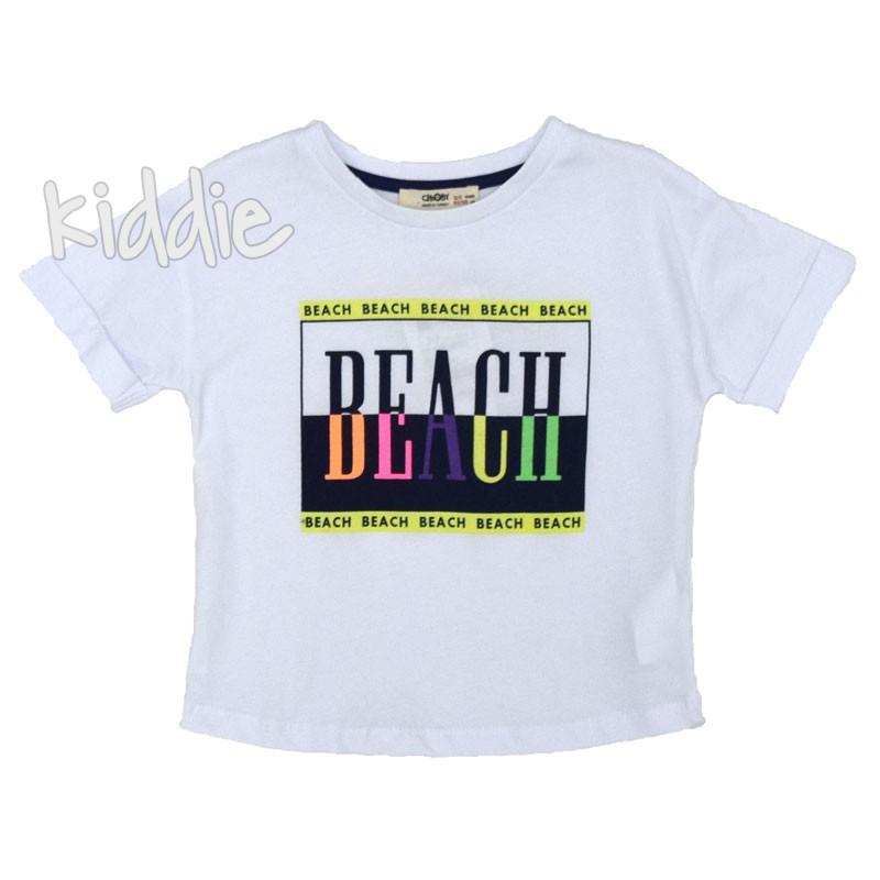 Детска блуза Cikoby Beach за момиче