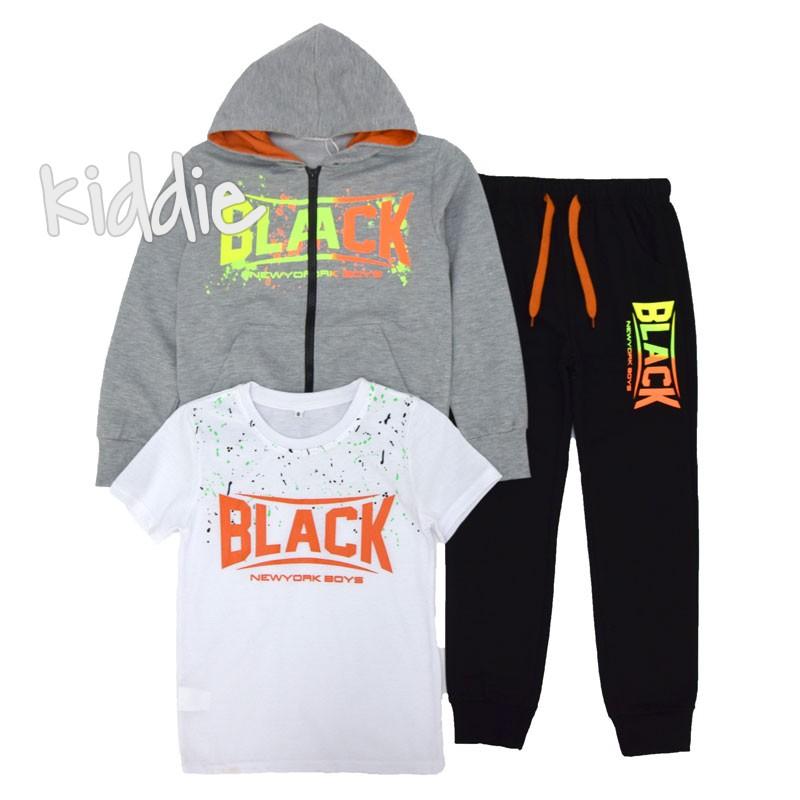 Детски спортен комплект Black от три части