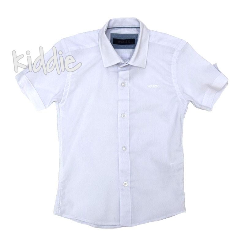 Детска риза Wanex с къс ръкав за момче