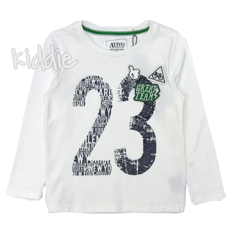 Детска блуза Ativo за момче 23 Great Team