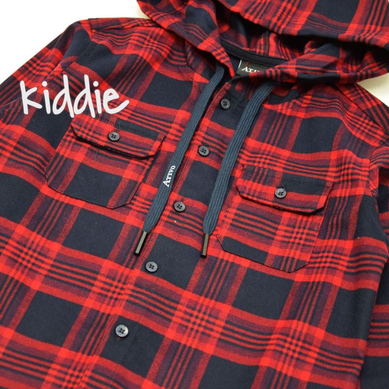 Детска риза Ativo в каре за момче