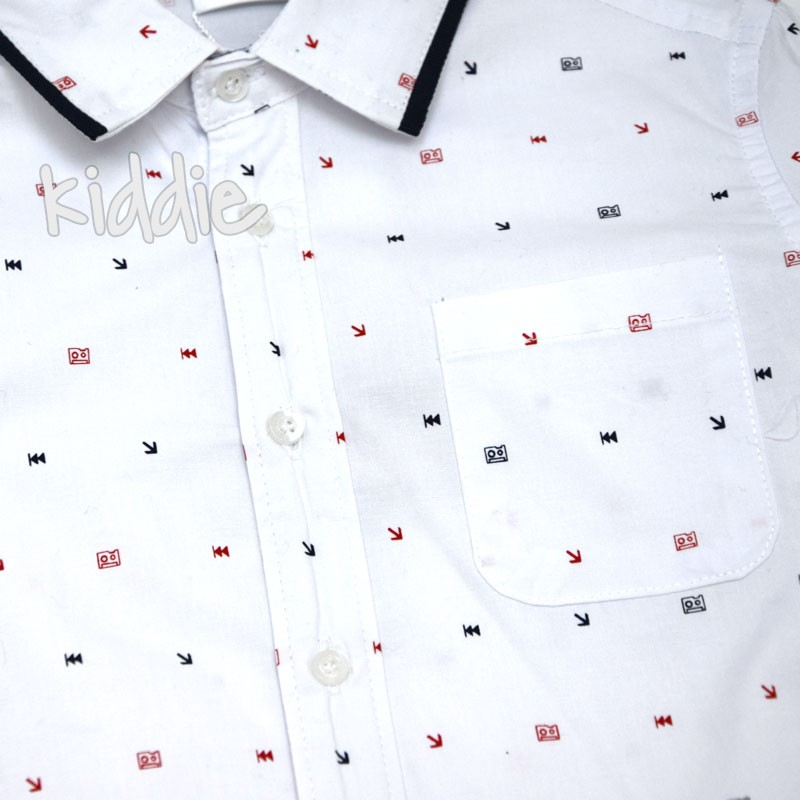 Детска риза Ativo за момче с кант