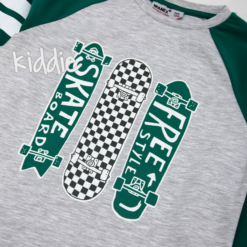 Детска блуза Wanex Free Skate за момче