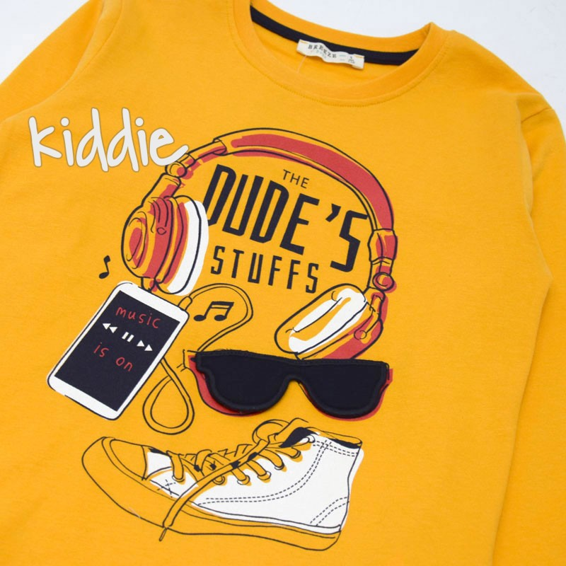 Детска блуза Dude's stuffs Breeze за момче