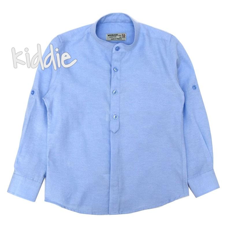 Детска риза Woorage с копчета за момче
