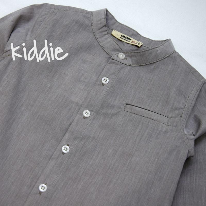 Детска риза Cikoby за момче със столче яка