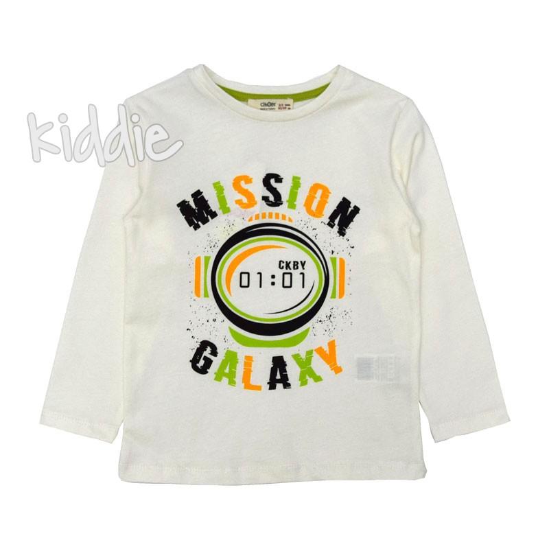 Детска блуза Mission Galaxy Cikoby за момче