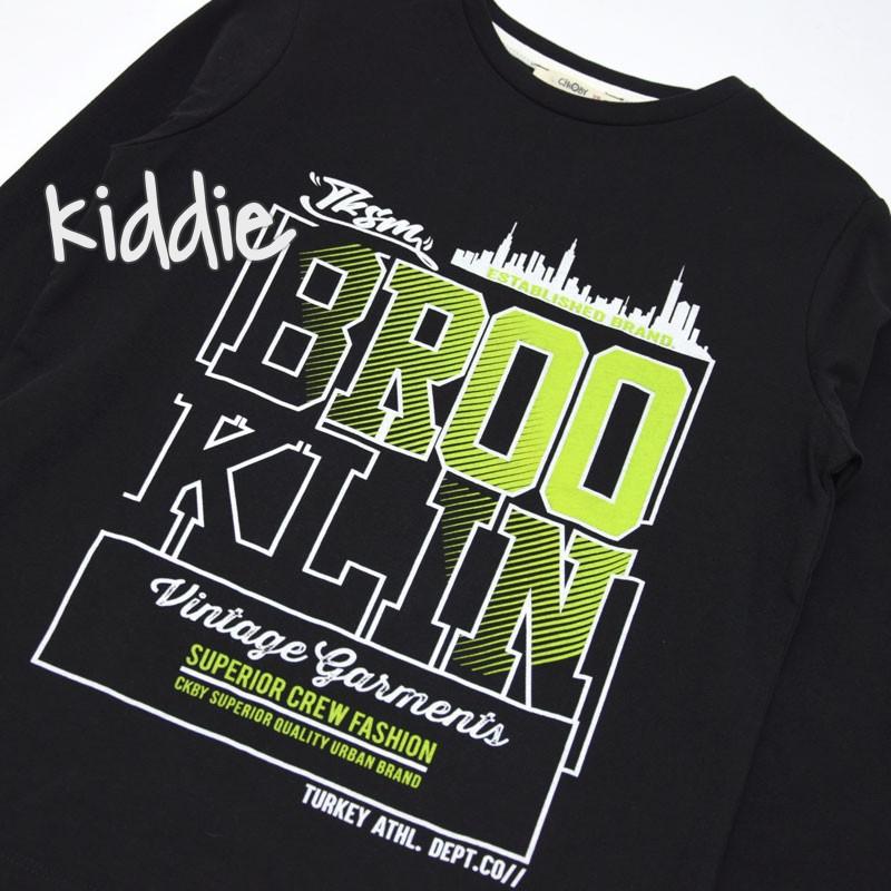 Детска блуза Brooklin Cikoby за момче