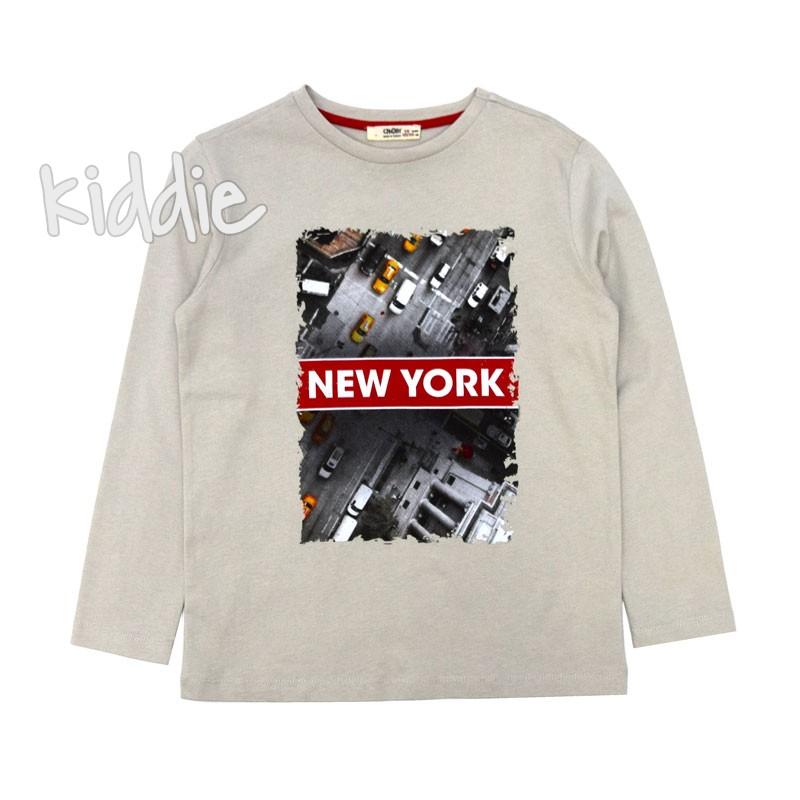 Детска блуза New York Cikoby за момче