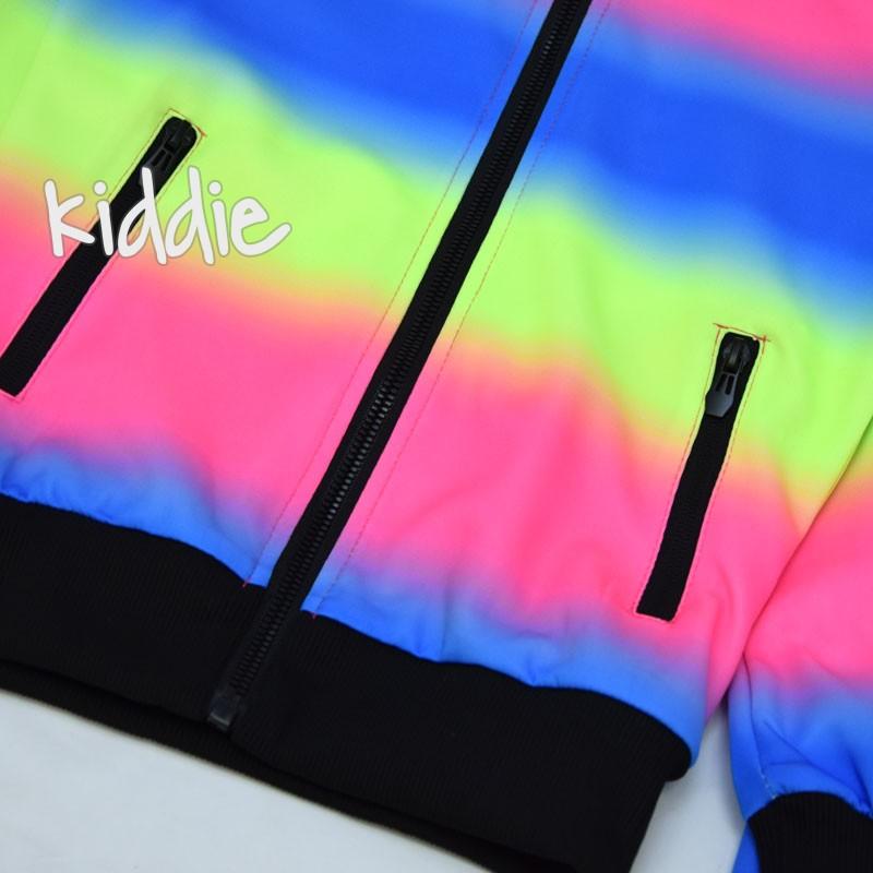 Детски цветен спортен комплект Fashion за момиче