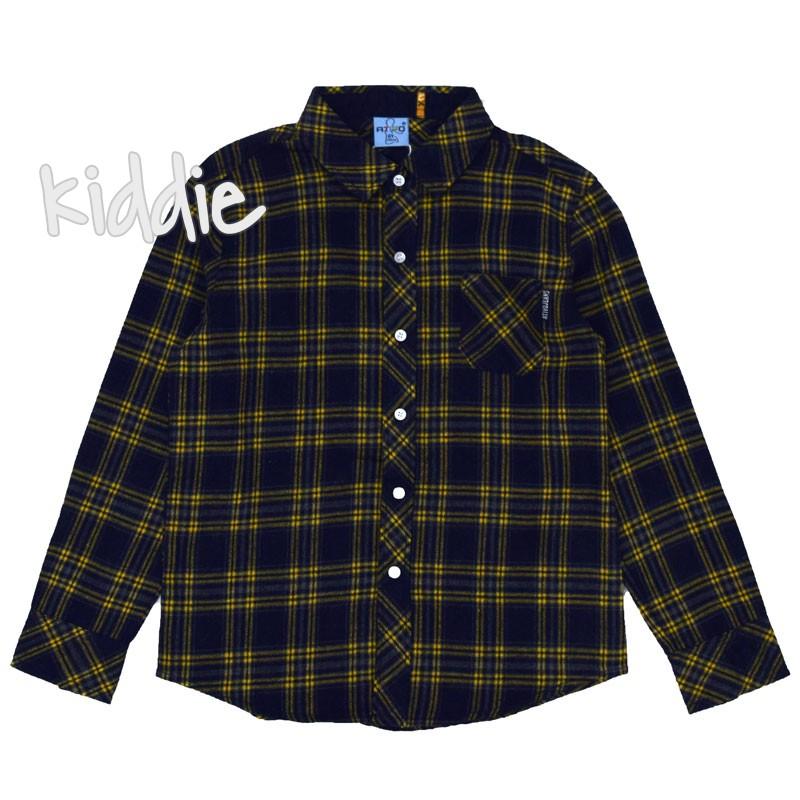 Детска риза Ativo за момче в каре