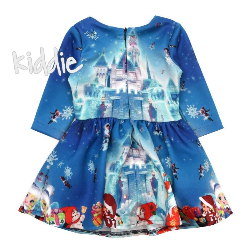 Детска коледна рокля Viki