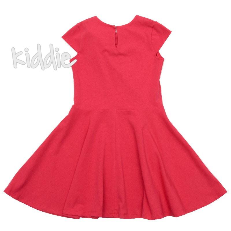 Детска рокля от трико Contrast