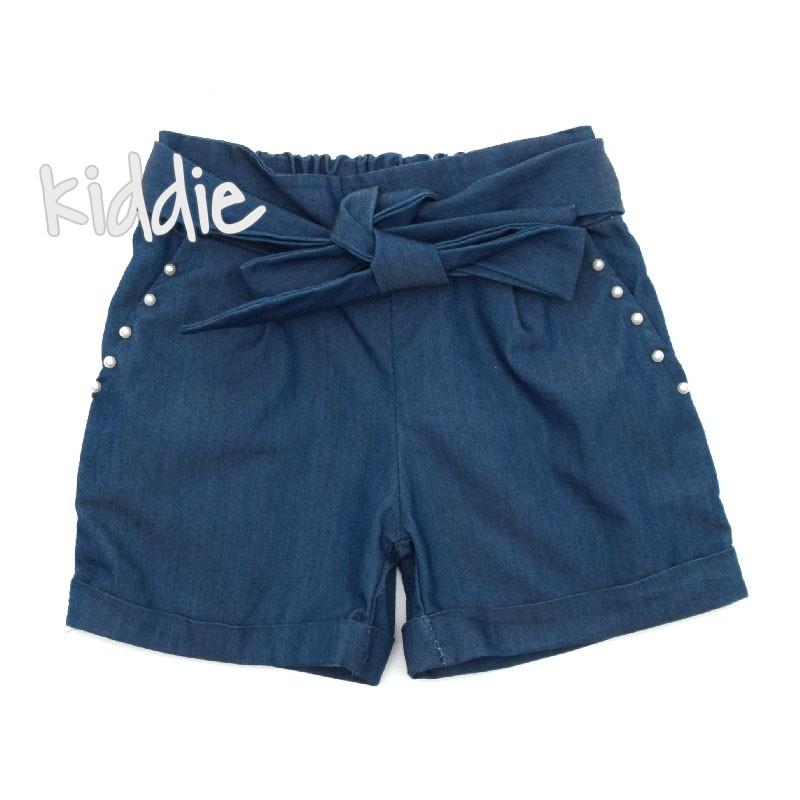 c6f4b69248e Детски къси панталони от деним за момиче Fashion | Kiddie