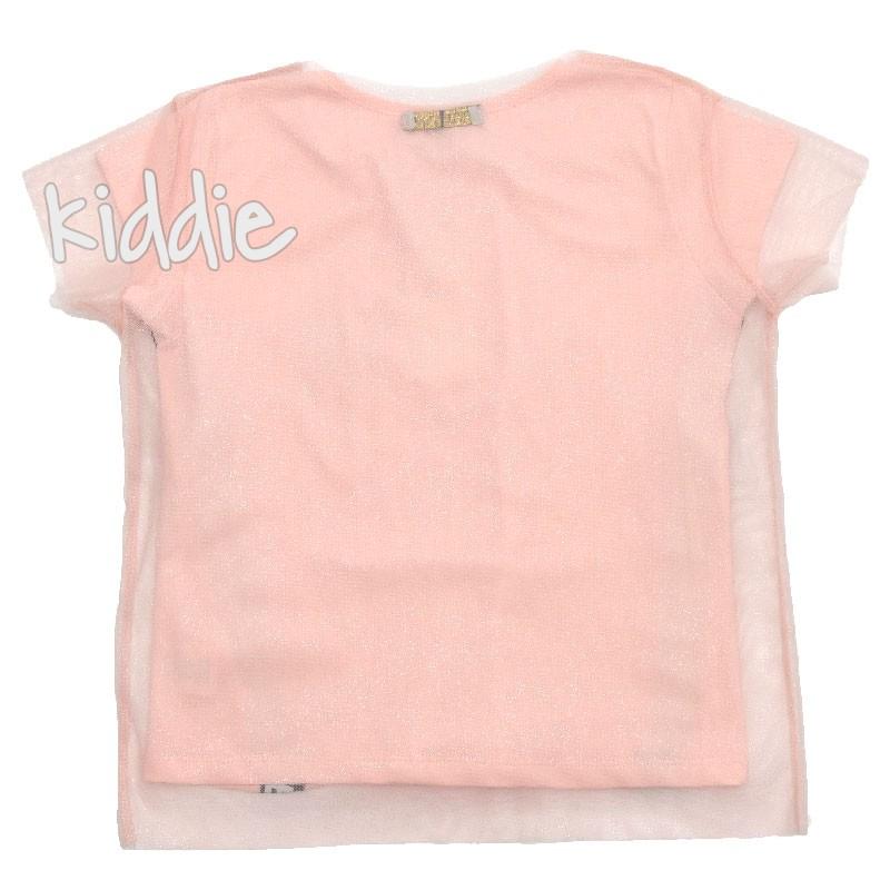 Детска тениска Little Star с тюл за момиче