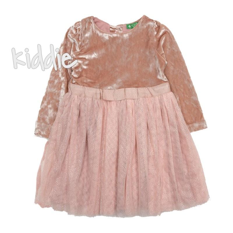 Детска рокля Cichlid с плюшена горна част