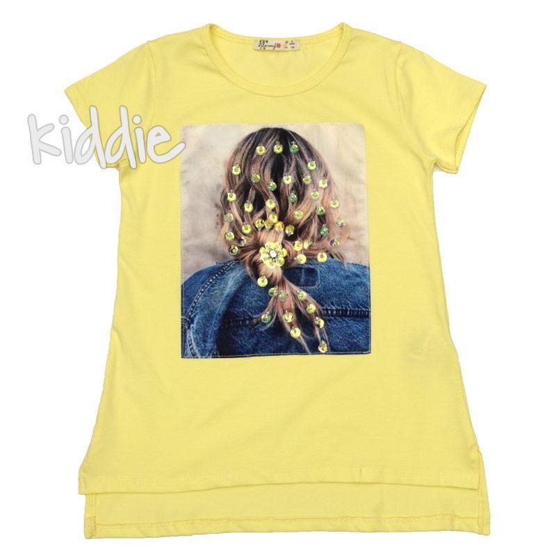 Детска тениска за момиче Barmy