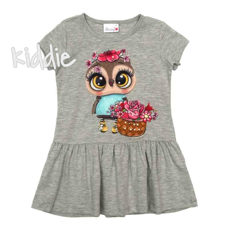 Детска рокля с апликация Barmy