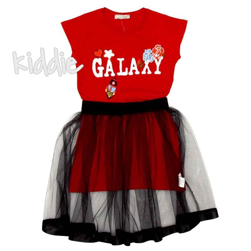 Детска рокля Galaxy Little Star с пола