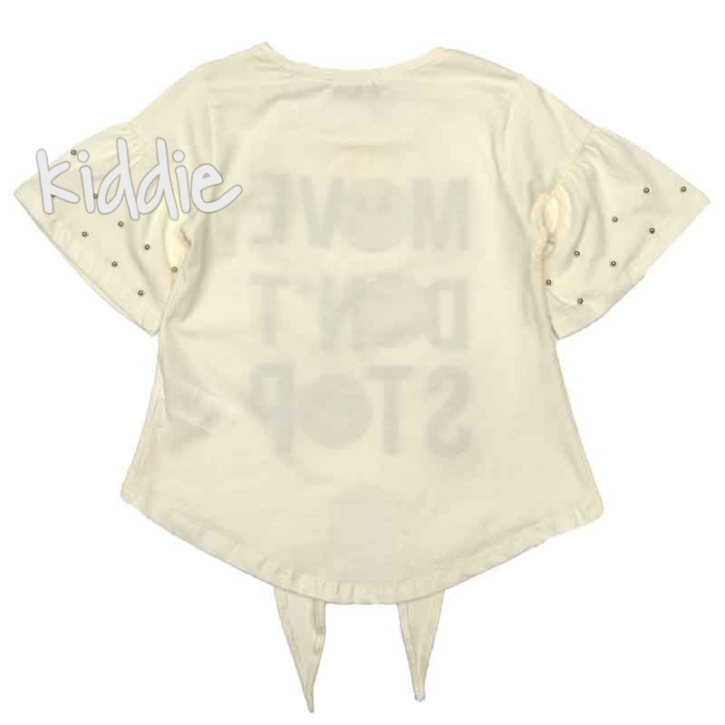 Детска тениска Move Dont Stop, LittleStar за момиче