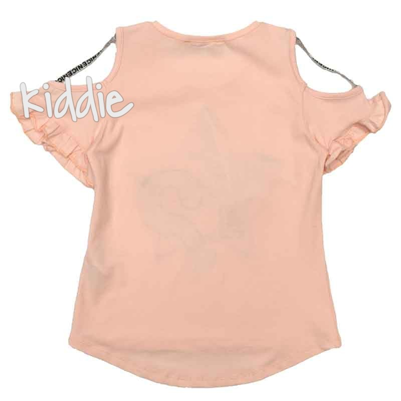 Детска тениска Little Star за момиче със звезда