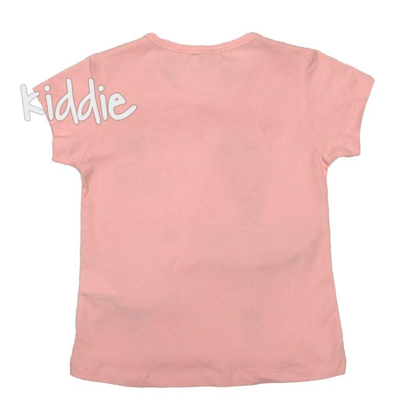 Детска тениска за момиче I love ballet, Breeze
