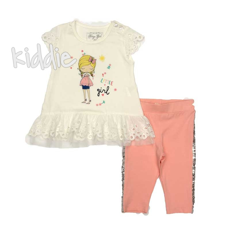 Детски комплект Little Girl Breeze за момиче