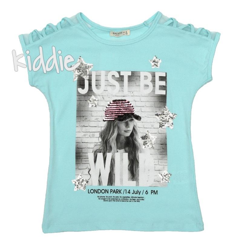 Детска тениска Just Be Will, Breeze за момиче