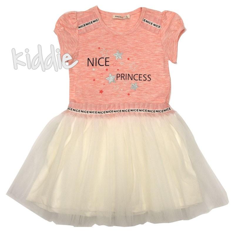 Детска рокля Nice Princess Breeze със звезди