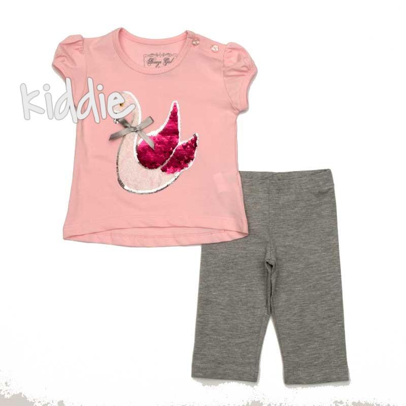 Детски комплект Лебед Breeze за момиче