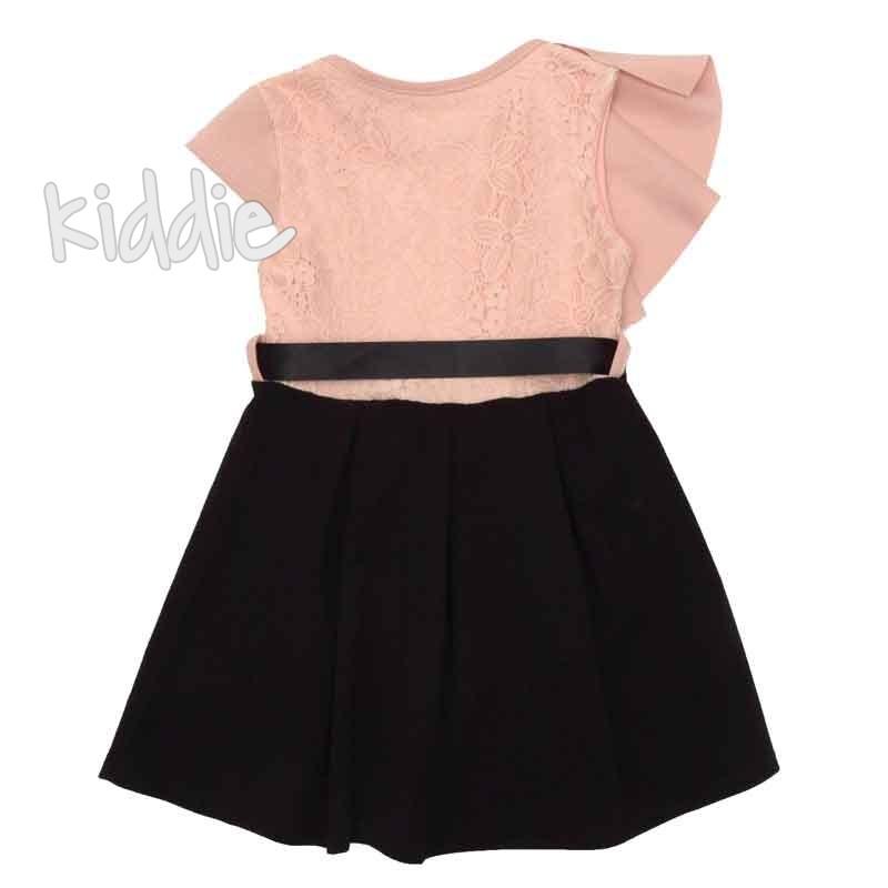 Детска рокля с дантела Fashion girl