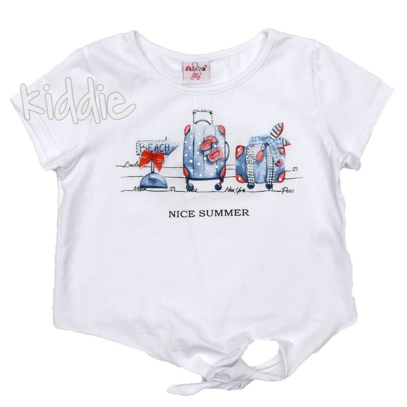 Детска тениска Nice Summer Ativo за момиче