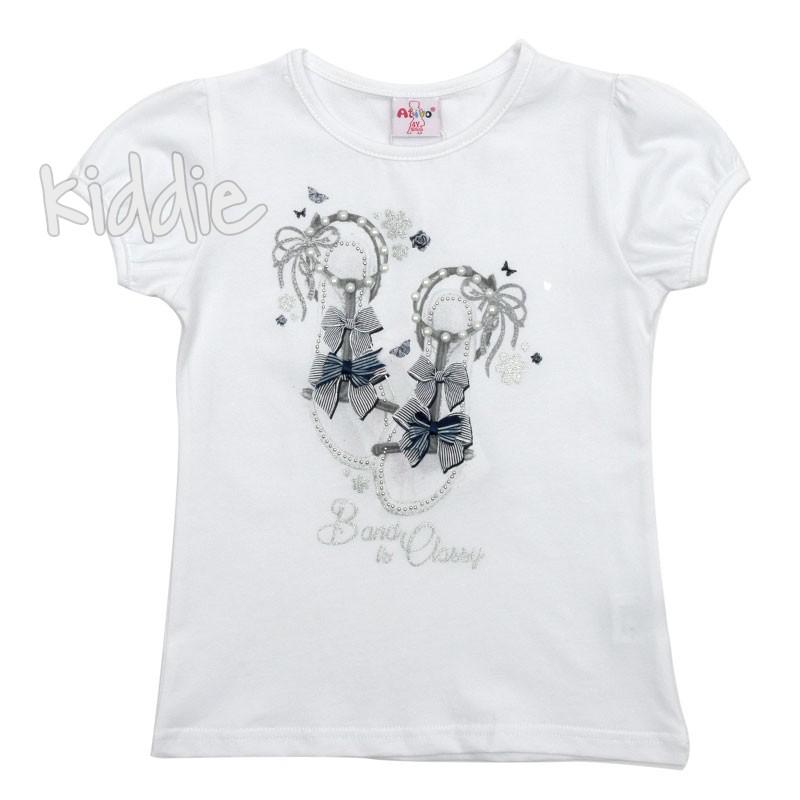 Детска тениска Ativo Classy за момиче