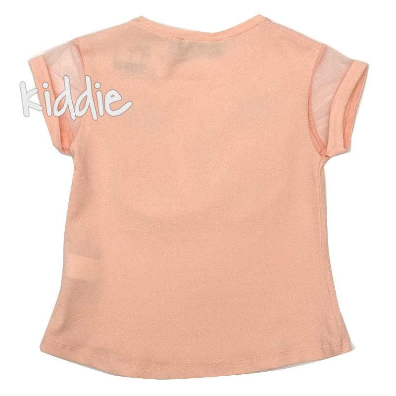 Детска тениска Пеперуда Cichlid за момиче