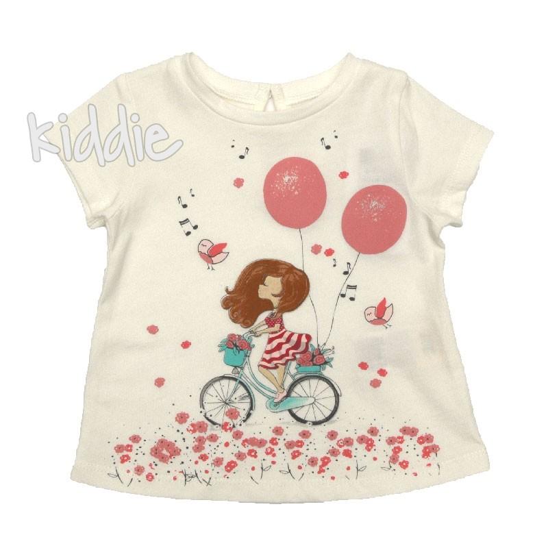 Бебешка тениска Пролетно настроение Cikoby за момиче
