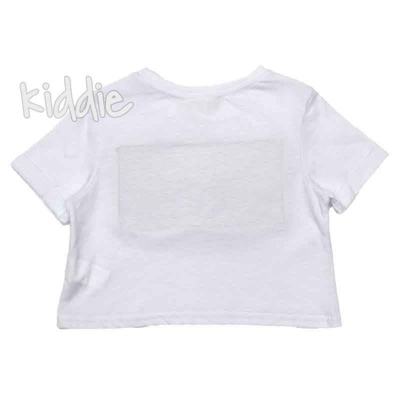 Детска къса тениска New York, Cikoby за момиче