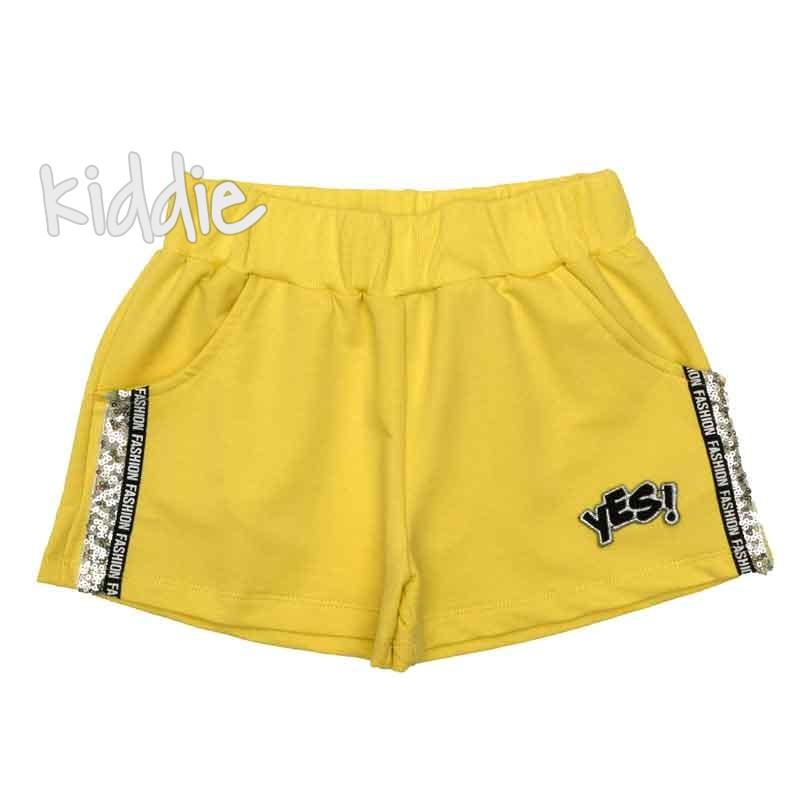Детски къси панталони Yes, Teto за момиче