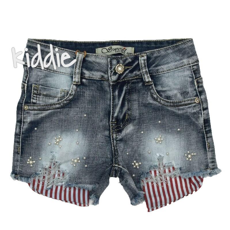 59a155bad46 Детски къси панталони Sweet Conture за момиче | Kiddie