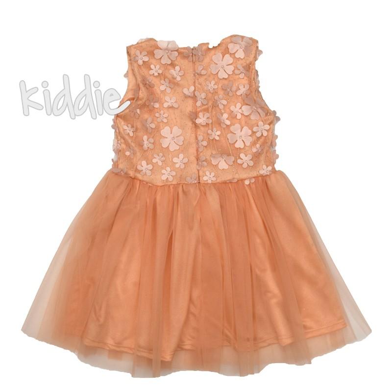 Детска рокля Севтекс с 3D цветя