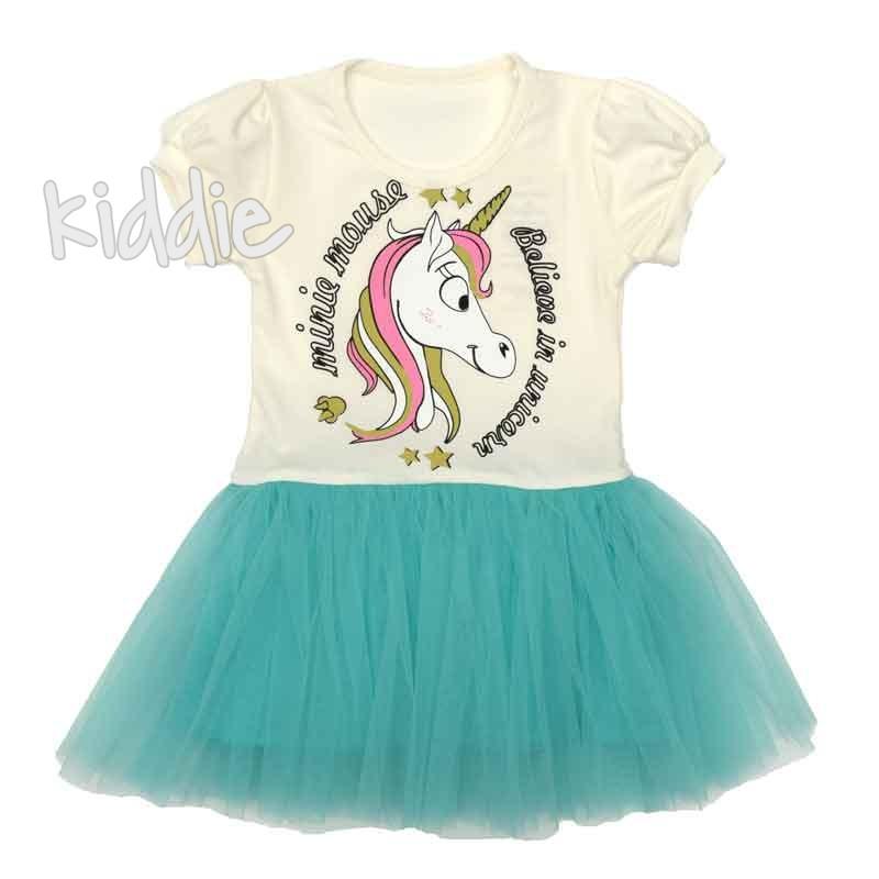 Детска рокля Еднорог Sevtex